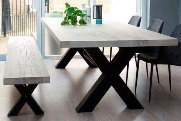 מפואר חיסול מלאי – פינות אוכל כולל כסאות מעץ מלא | living room AN-86
